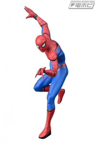スパイダーマン:ホームカミング プレミアム1/10スケールフィギュア グッズの画像