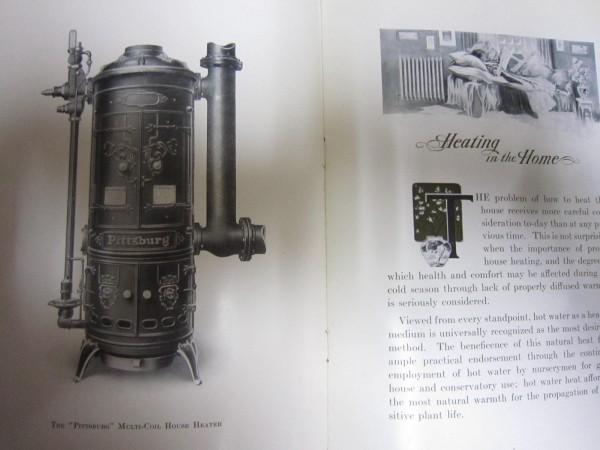 昔のモダン暖房器具のカタログ★米国刊★ストーブ、ハウスヒーター_画像3