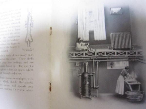 昔のモダン暖房器具のカタログ★米国刊★ストーブ、ハウスヒーター_画像2