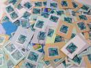 1円〜★日本使用済み 新205円切手 縄文杉100枚 紙付き★700