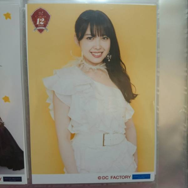 ℃-ute 中島早貴 生写真『結成12周年』