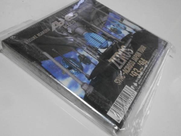 初回限定盤 access LIVE ZEROS SYNC-ACROSS JAPAN TOUR '93~'94 アクセス ライブゼロスシンクアクロスジャパンツアー 浅倉大介 貴水博之_画像3