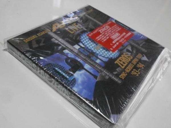 初回限定盤 access LIVE ZEROS SYNC-ACROSS JAPAN TOUR '93~'94 アクセス ライブゼロスシンクアクロスジャパンツアー 浅倉大介 貴水博之_画像2