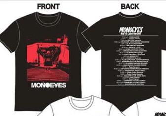 【送料込・新品】MONOEYES Dim The Lights Tour 2017ツアーTシャツ 黒 / Lサイズ ライブグッズの画像