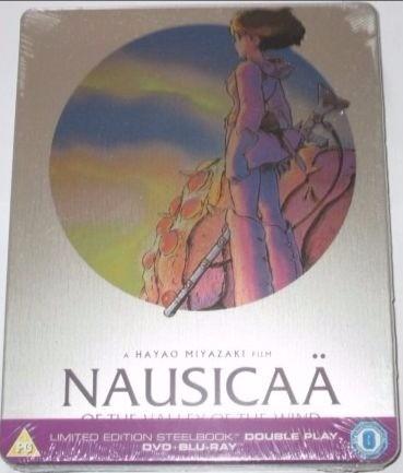 風の谷のナウシカ DVD+blu-ray スチールブック 宮崎駿 スタジオジブリ  グッズの画像
