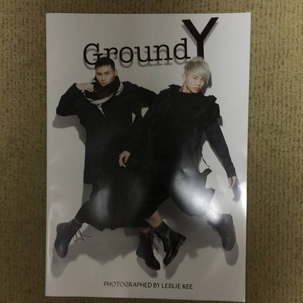 GroundY コレクションブック Leslie Kee The Rampage from Exile Tribe 武知海青 龍 SCANDAL 土屋アンナ 城田優 永瀬正敏 亀田興毅 ライブグッズの画像