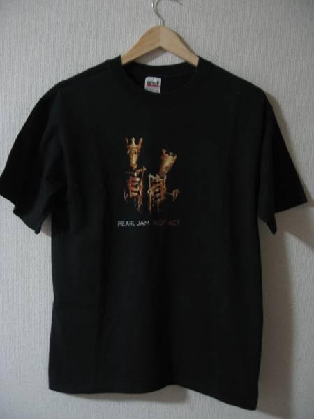 PEARL JAM パールジャム RIOT ACT オーストラリア 日本 2003 ツアー Tシャツ Mサイズ 00's