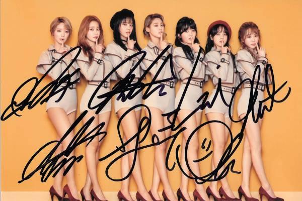 17.1★AOA★「ANGEL'S KNOCK」全員直筆サイン入り 公式写真516