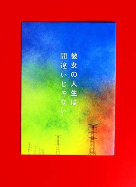 映画パンフ『彼女の人生は間違いじゃない』瀧内公美、高良健吾! グッズの画像