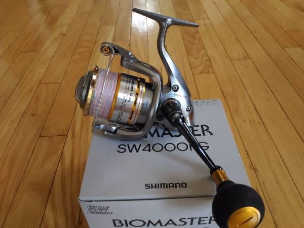 シマノ 10 バイオマスター SW4000PG / 検索(スピニングリール ジギング ツインパワー アルテグラ ステラ ソルトリール)