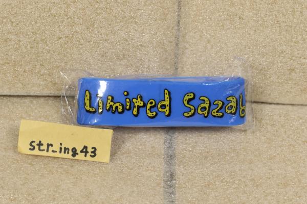 新品 04 Limited Sazabys etreka tour 2016-2017 グッズ ラバーバンド フォーリミ