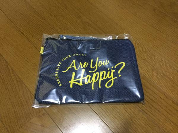Are you Happy?グッズ ポーチ コンサートグッズの画像