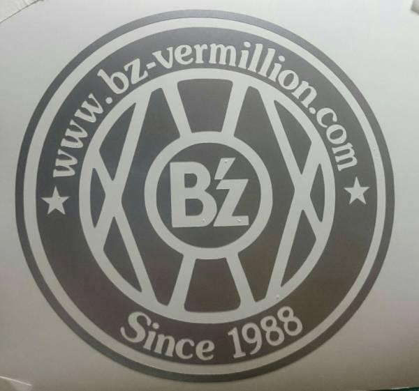 【新作】B'z ☆vermilion☆10cm☆切り抜きタイプ☆ハンドメイドステッカー☆送料込み☆銀色
