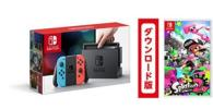 限定1セット ニンテンドースイッチ Nintendo Switch Joy-Con ネオンブルー/ ネオンレッド+スプラトゥーン2(ダウンロード版) 同梱版