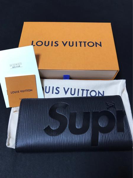 最落無し 国内正規 Louis Vuitton ルイヴィトン× Supreme POP-UP STORE 限定 EPI エピ 2