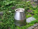 昭和 レトロ ステンレス製 ミルク缶 アンティーク ジャンクガーデン ミルカー MILKER 傘立て