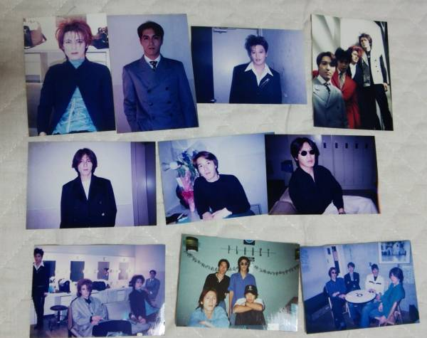 JUSTY-NASTY 1993年ごろ 生写真10枚セット