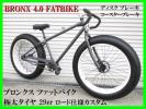 BRONX 4.0 FATBIKE ファットバイク 美車 ブロンクス 29er 極太タイヤ シングルスピード ディスク コースターブレーキ!ロード仕様カスタム