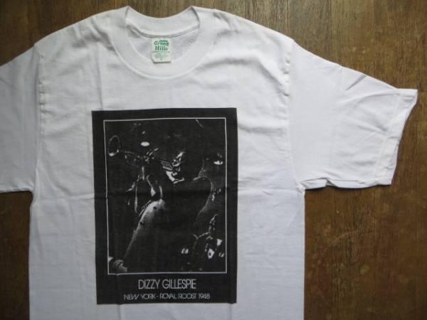 デッドストック DIZZY GILLESPIE ディジー ガレスピー NEW YORK ROYAL ROOST 1948 Tシャツ JAZZ ジャズ トランペット