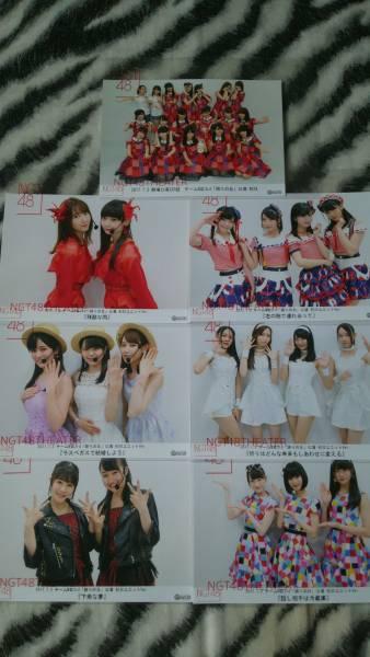 NGT48 劇場公演 チームNⅢ 誇りの丘公演 初日 集合 ユニット まとめ7枚セット 送料割安 ライブグッズの画像