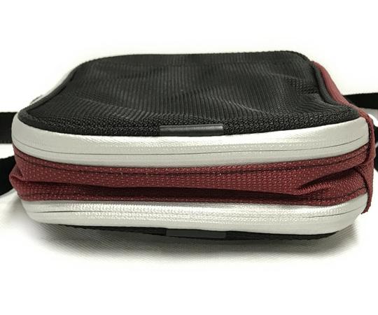 美品 TUMI ドゥカティ ナイロン ショルダーバッグ メンズ 黒×赤 DUCATI 限定コラボ T2556152_画像6