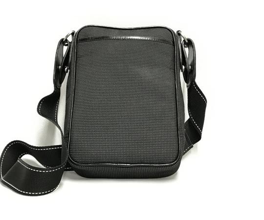 中古 良好品 ハンティングワールド HUNTING WORLD ナイロン ショルダーバッグ バチュー メンズ ブラック 黒 T2556153_画像2