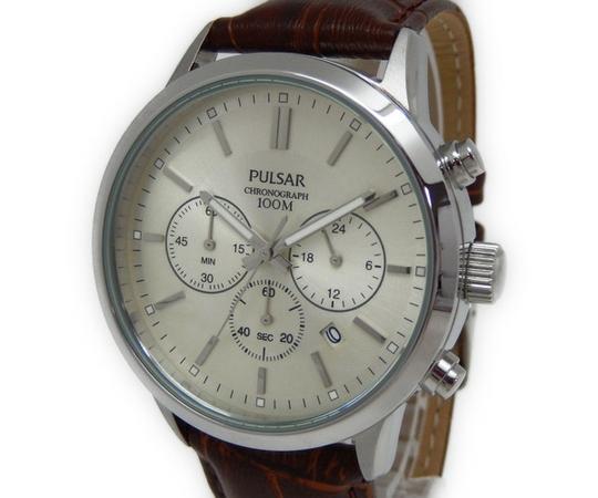 SEIKO PULSAR セイコー パルサー 腕時計 メンズ クロノグラフ Y2308759