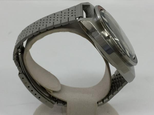 ジャンク SEIKO セイコー5 SPEED TIMER 6139-6030 メンズ 腕時計 ステンレス 自動巻き 黒文字盤 T2551925_画像3