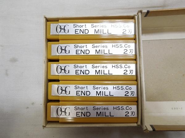 中古 美品 実使用なし OSG エンドミル 7mm 2刃 HSS-co 工具 S2575524_画像3
