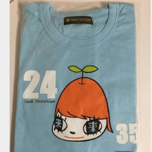 【新品】嵐 大野智&奈良美智 24時間テレビ 水色Tシャツ サイズM