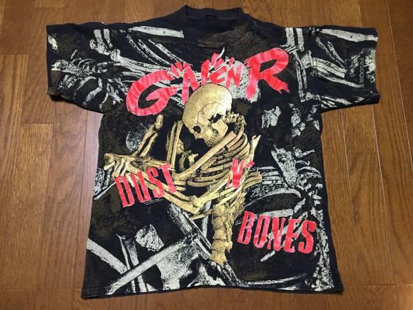 ガンズアンドローゼズ バンドTシャツ /Guns N' Roses ガンズ ヴィンテージ  ロックT 総柄 fear of god ライブグッズの画像