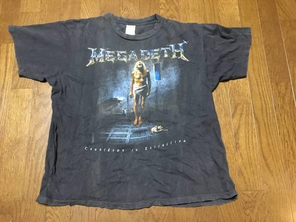 メガデス バンドTシャツ /megadeth ヴィンテージ ロックT メタルT メタリカ fear of god fog ライブグッズの画像
