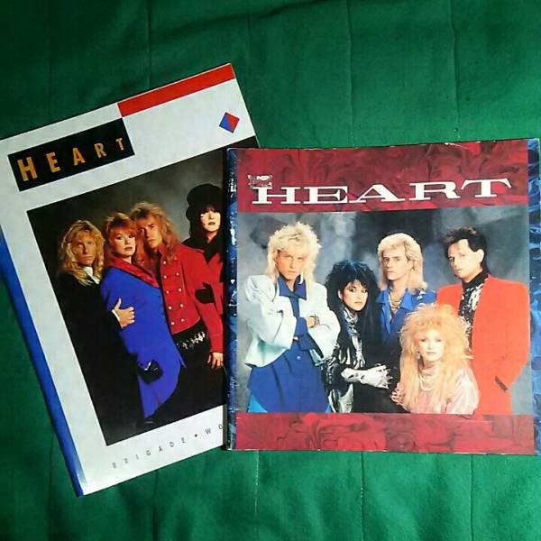 [お得2冊セット] [HEART] ハート / [86年32ページ、90年32ページ、国内 ツアー・パンフレット][おまけチラシ付き] 洋楽