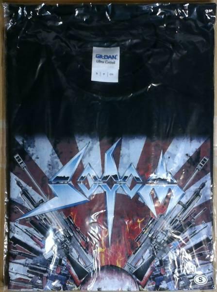 Sodom 2015 Thrash Domination Tシャツ Sサイズ 未使用 ソドム スラッシュドミネーション スラドミ metal メタル
