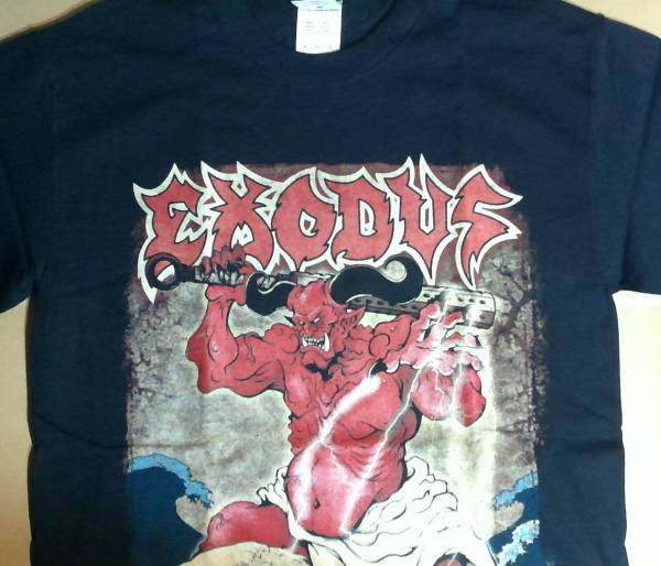 Exodus 2015 Thrash Domination Tシャツ Sサイズ 未使用 エクソダス スラッシュドミネーション スラドミ metal メタル ライブグッズの画像