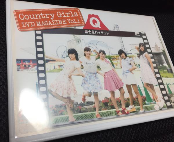 カントリーガールズ DVD magazine vol.1 DVDマガジン