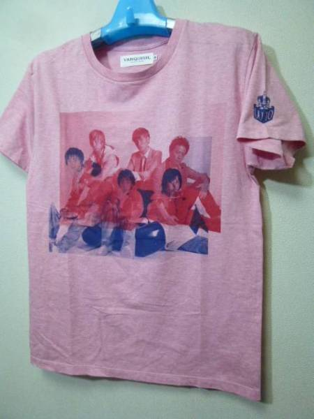 VANQUISHxw-inds. コラボTシャツ(千葉涼平橘慶太緒方龍一)
