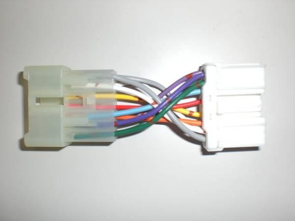新品 未使用 スズキ12P車に三菱 純正 14P オーディオ ミツビシ 変換 コネクタ アンテナ カプラ コード ハーネス ネコポス対応 即配 3_画像1