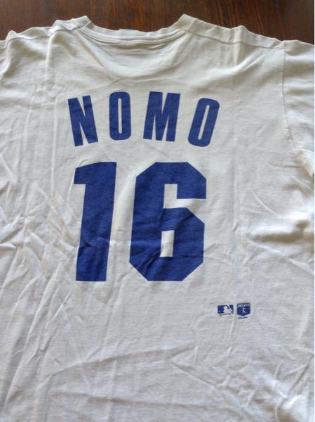 アメリカ製 LA Dodgers ロサンゼルスドジャース 野茂英雄 Tシャツ グッズの画像