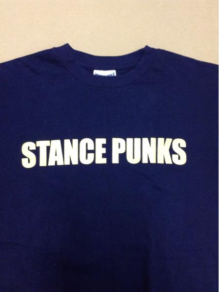 STANCE PUNKS スタンスパンクス バンドTシャツ