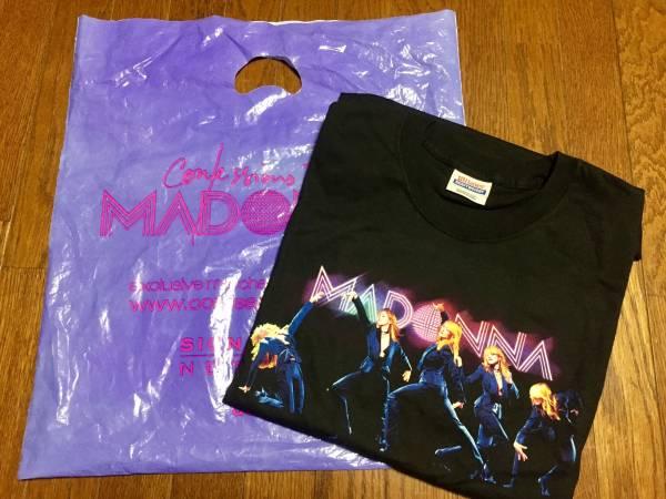 未使用・未使用 マドンナ MADONNA Confessions tour 2006京セラドーム ツアーTシャツ Mサイズ ライブグッズの画像