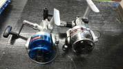 オリムピック スピニングリール ゼブラジュニア№1&LX25002個セット 未使用品