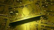 Design NEW【最強開運】超大量100枚SET★黄金一万円札 クリアカラー版 ゾロ目7777777 風水 金運 長財布に忍ばせて‥。【限定1名様】2