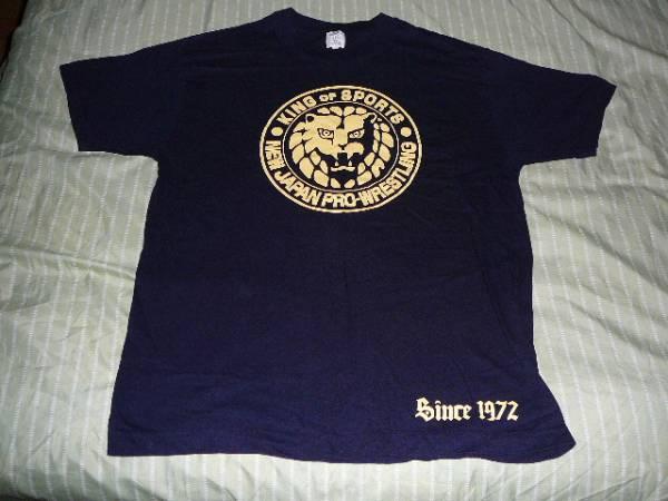 新日本プロレス ライオンマーク Tシャツ Lサイズ  シンニチプレミアムストア グッズの画像