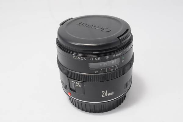 キャノン Canon EF 24mm F2.8★単焦点 eos30 eos40 eos50 eos60 eos70 eos80 kissX x2 x3 x4 x5 x6i x7 x7i x8 x9i 等に!