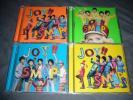 SMAP Joy!! 4枚セット オレンジ/グリーン/スカイブルー/イエロー 初回通常 CD DVD
