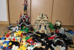 Lego 5988 , 7286 など 。大量品 バラ 約 4,1KG 4,100g 大量 レゴ パーツ