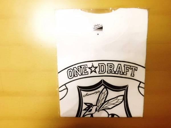 【新品】【送料無料】【Mサイズ】 ONE DRAFT Tシャツ Mサイズ 蜂の巣 (白 ホワイト)