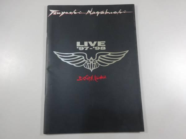 J1/長渕剛 ツアー パンフ 『ふざけんじゃねぇ LIVE1997-98』