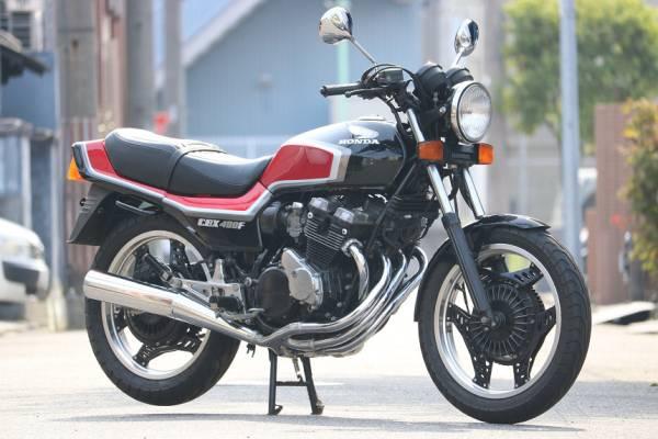 「昭和60年6月/CBX400FF/F2/フルオリジナル/フル2型/黒赤/フルノーマル/エンジン乗せ換えなし/超極上車/完璧なクオリティー/オートローン可能」の画像2